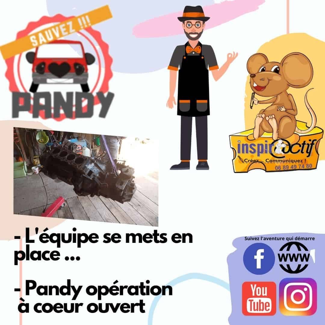 Ratacouille vous parle de «Sauvez Pandy»