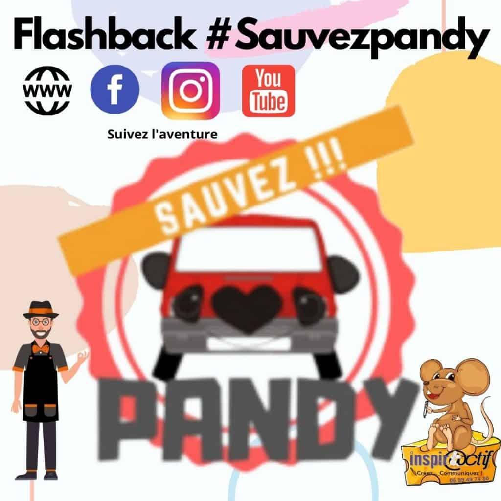 #sauvezpandy Flashback