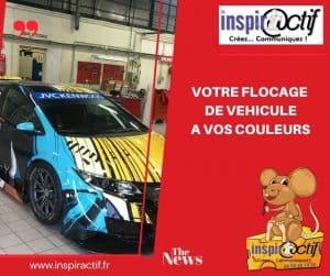 Flocage Vehicule